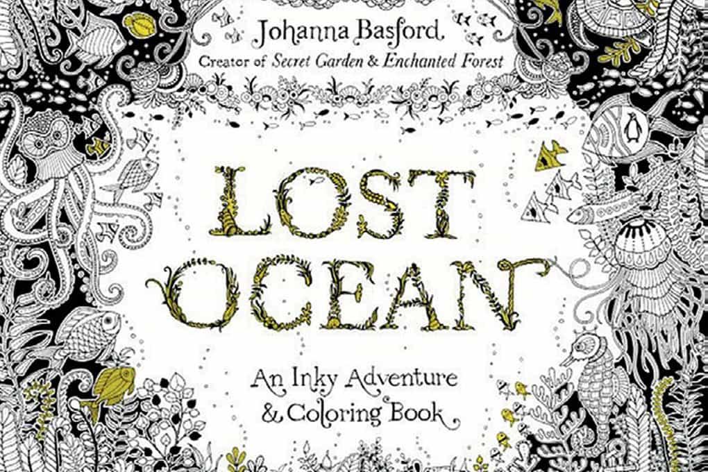 lostoceancoloringbook - Ocean Coloring Book
