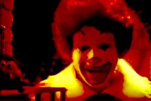 Relax, guys — it's just Ronald McDonald