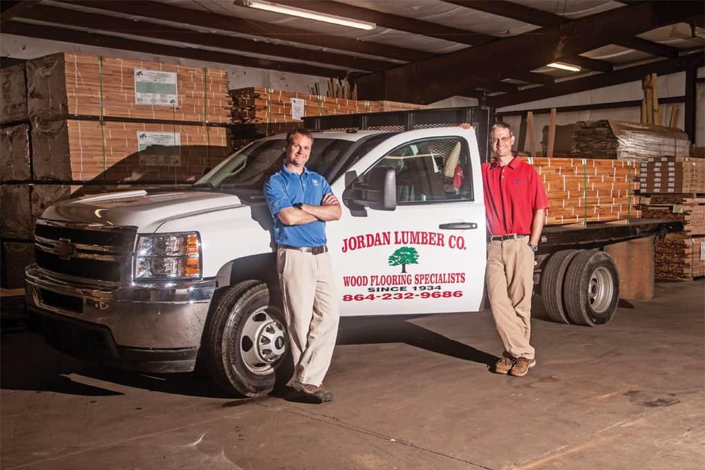 Jordan Lumber Company Greenville Journal
