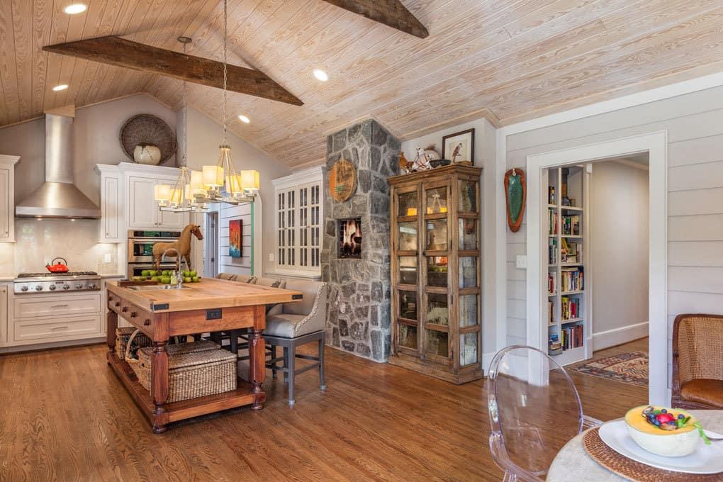A season for change greenville journal for Gourmet kitchen floor plans