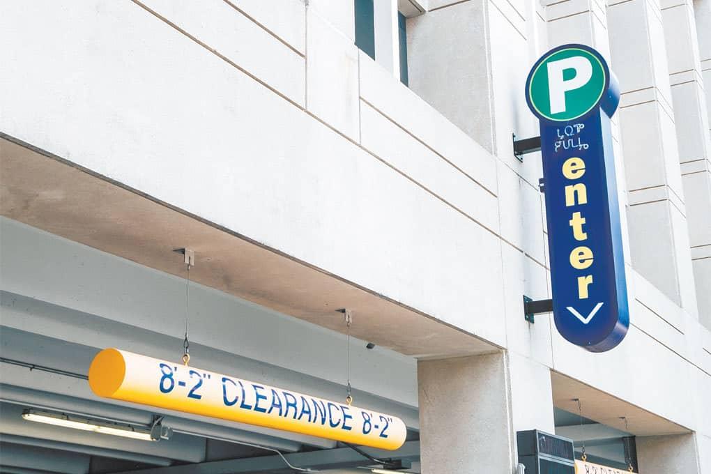 West Washington Street Parking Garage Closed Until Nov 18