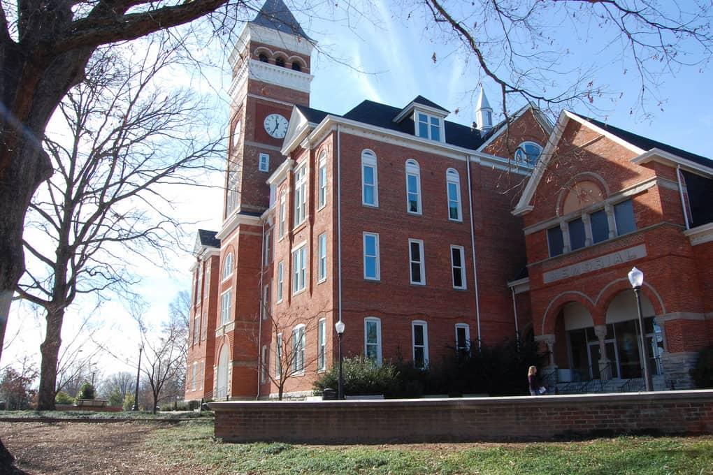 Clemson university building