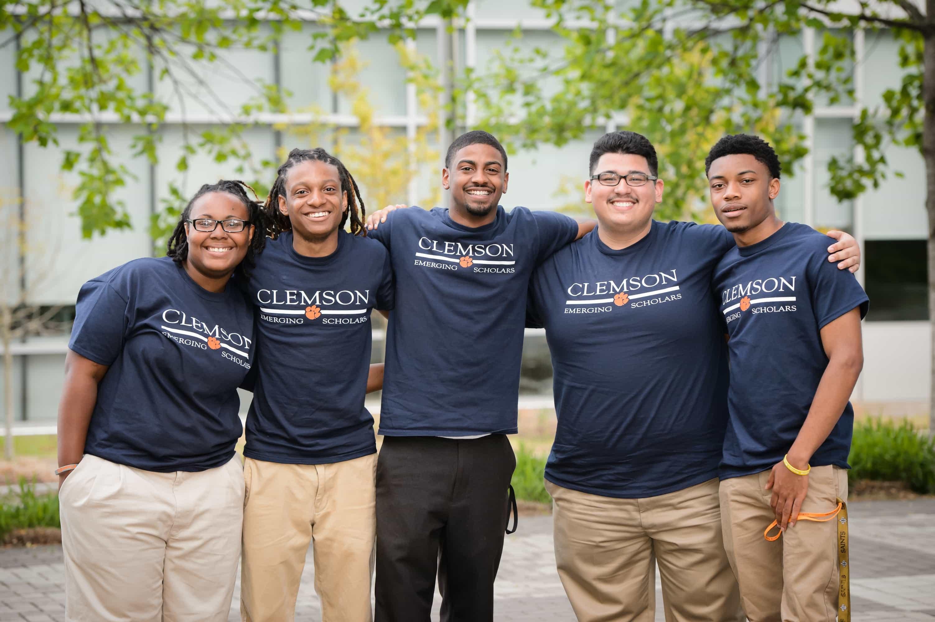 Clemson university students