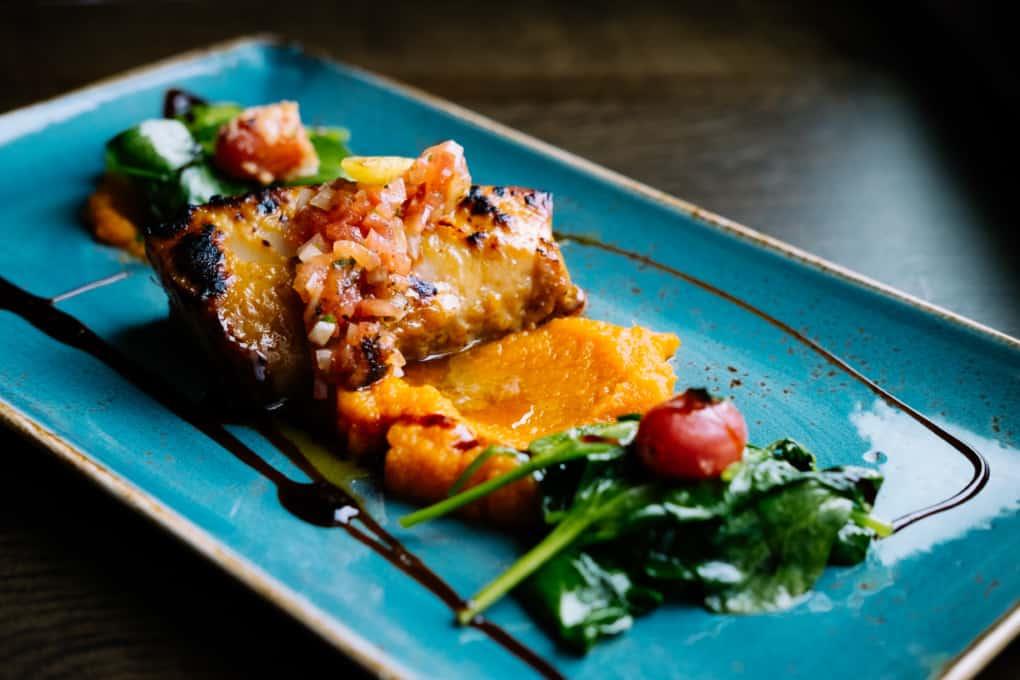Miso-Glazed Butterfish