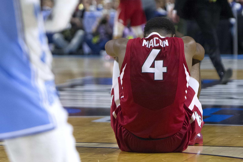 NCAA Basketball: March Madness-Round 2 Arkansas vs North Carolina