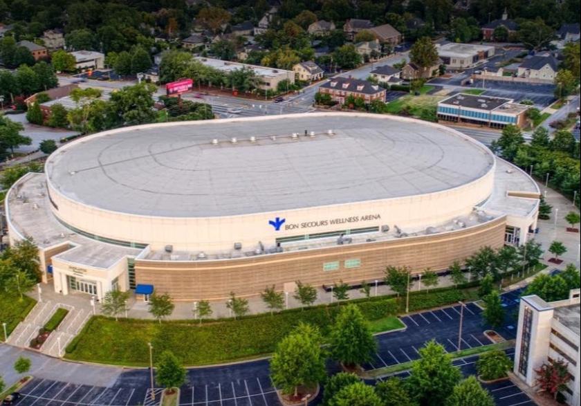Greenville Sc arena