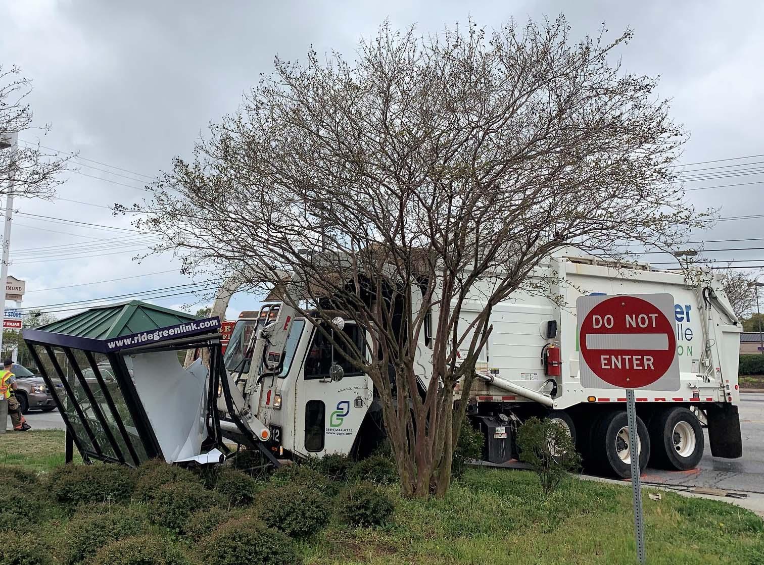 Greenville sanitation truck
