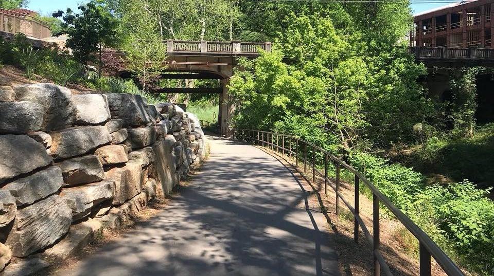 Swamp Rabbit Trail Cleveland Park