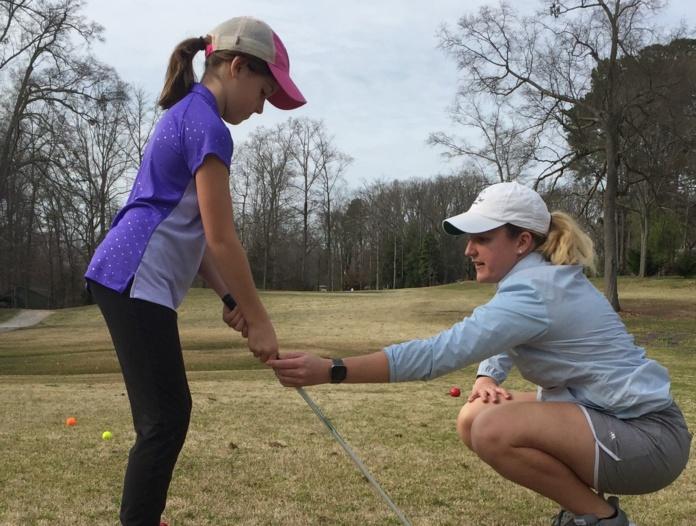 First Tee girls golf