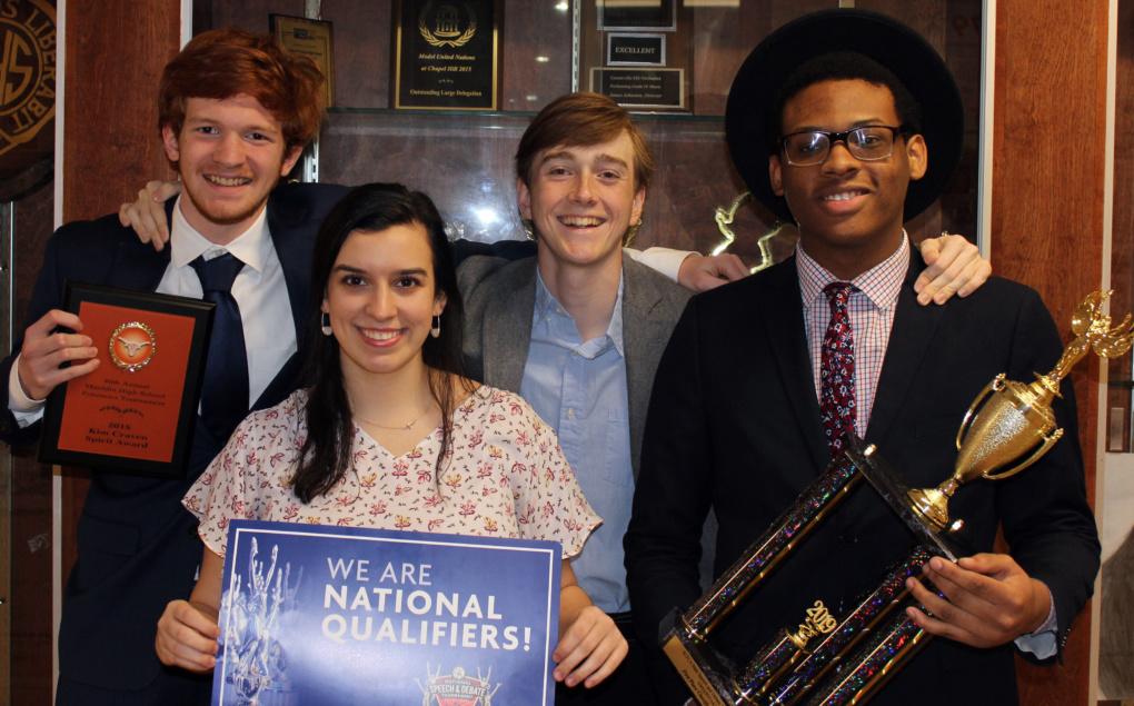 Greenville High National Speech and Debate Members