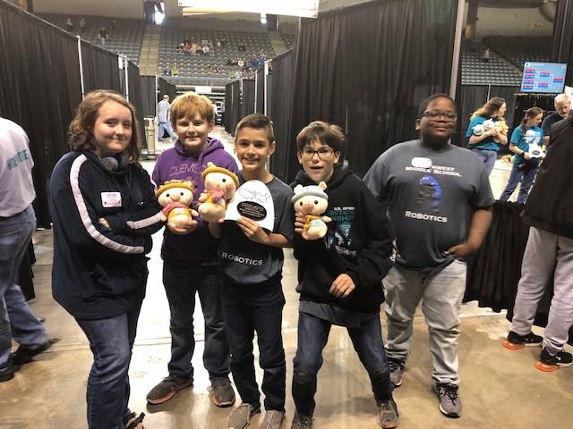 Northwest Middle School Robotics Team