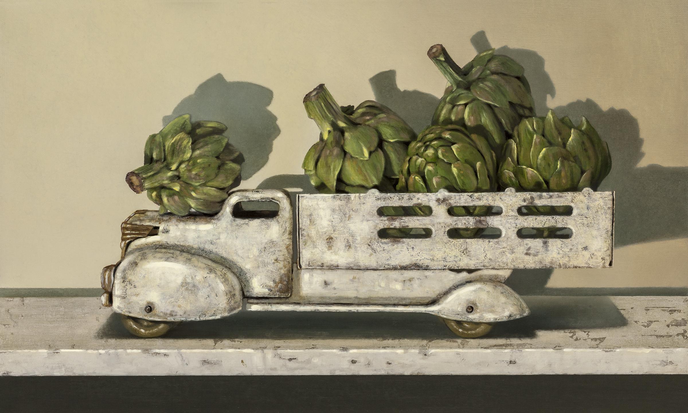 Oil painter Richard Hall