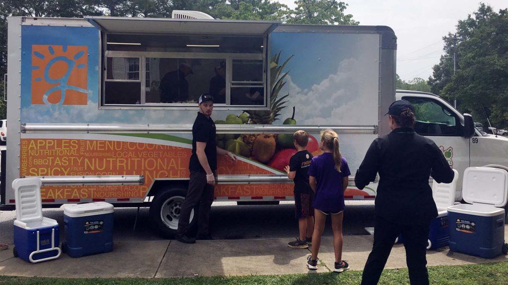 Greenville County Schools food truck