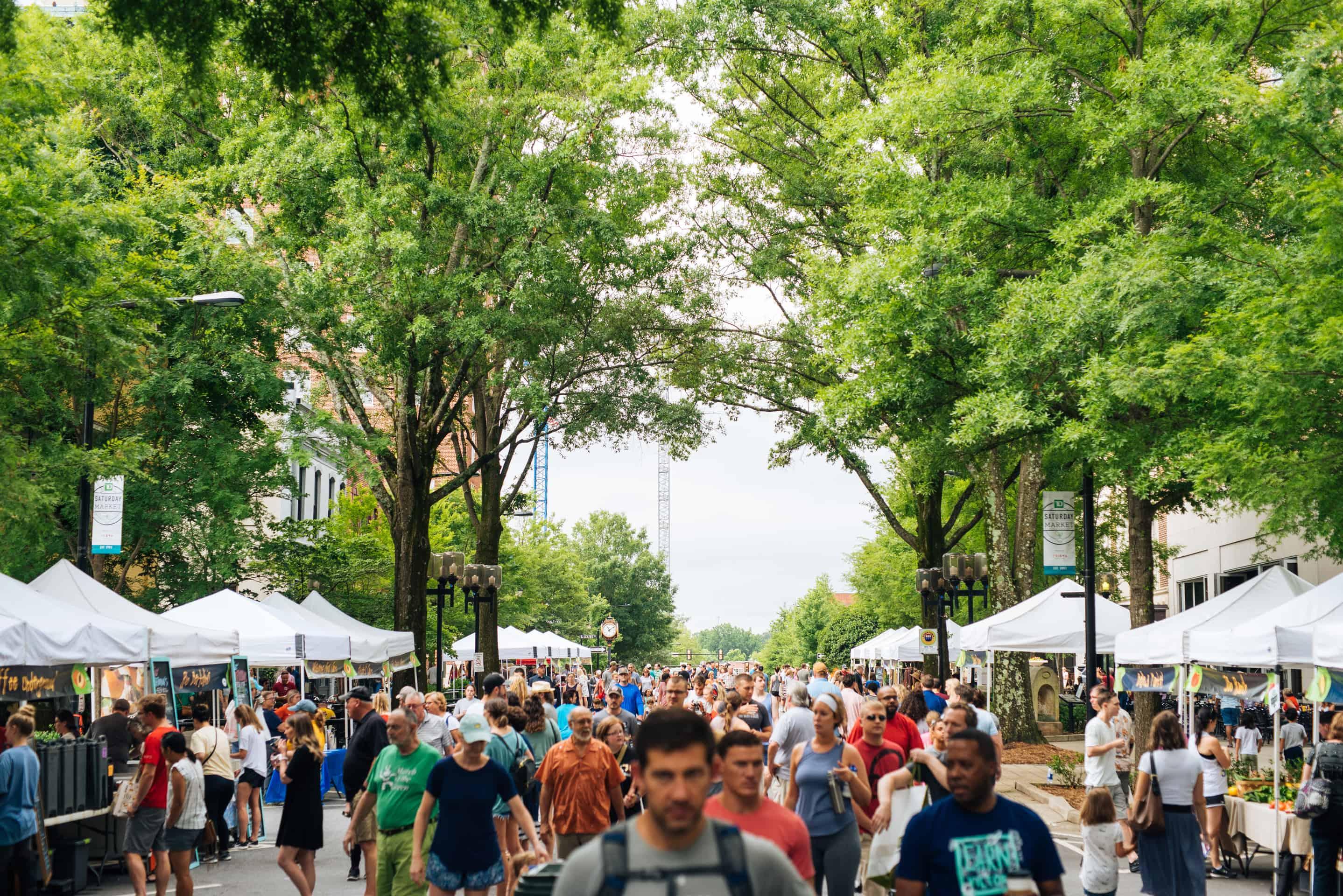 TD Saturday Market Greenville