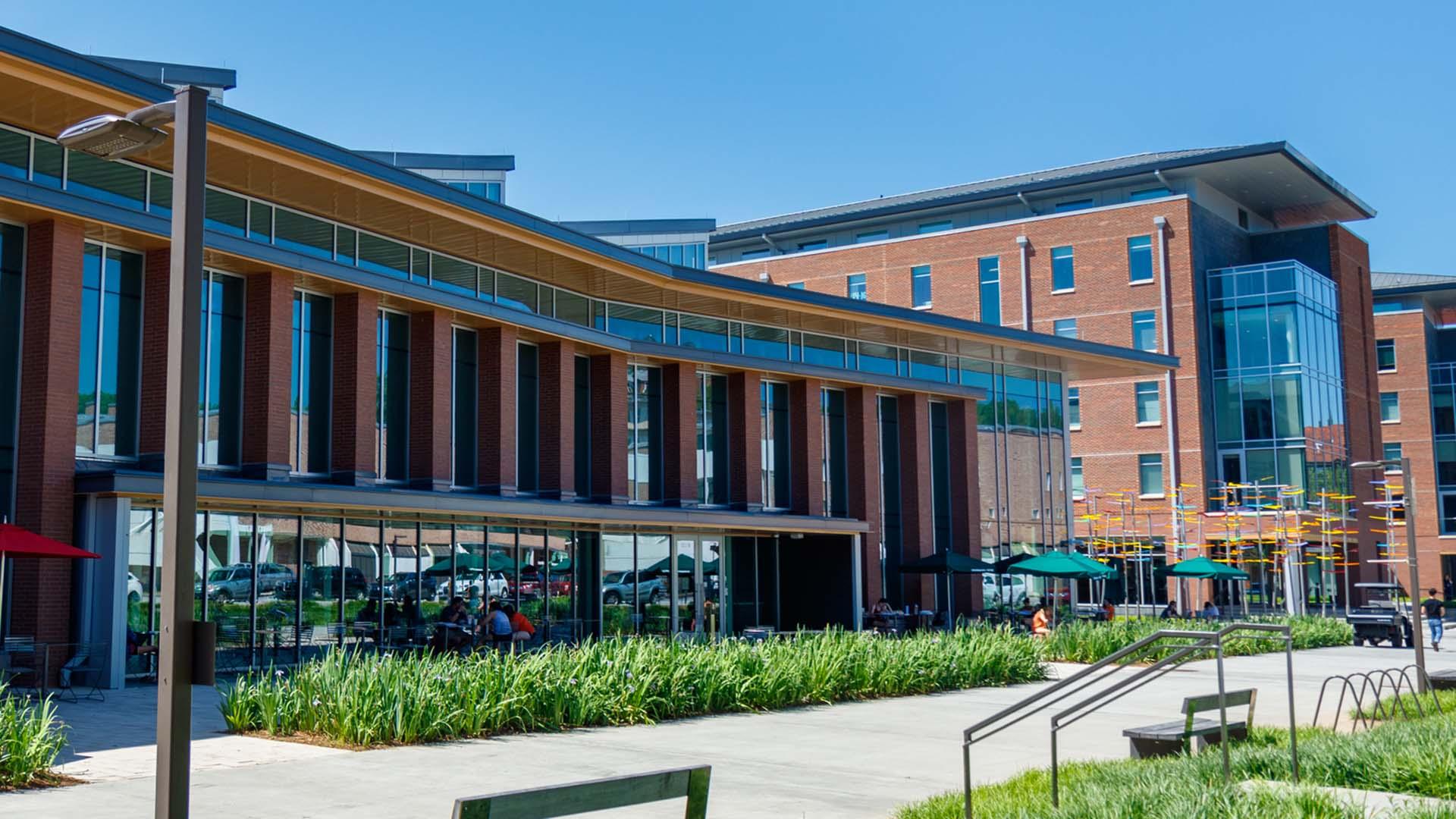Photo of Clemson University building