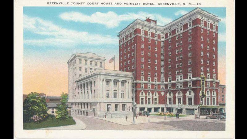 Poinsett Hotel Postcard
