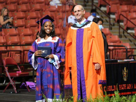 Carolina High School graduation