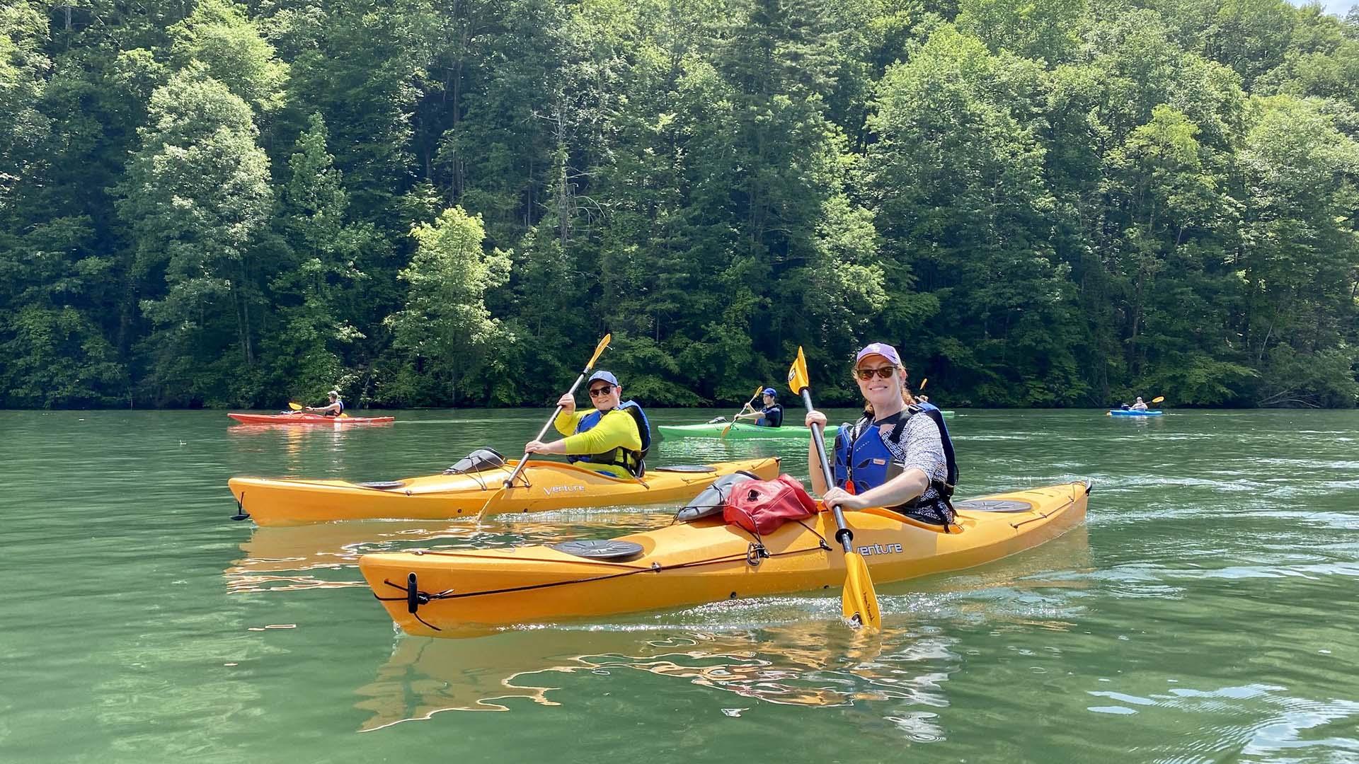 Recreation around Lake Jocassee - GREENVILLE JOURNAL