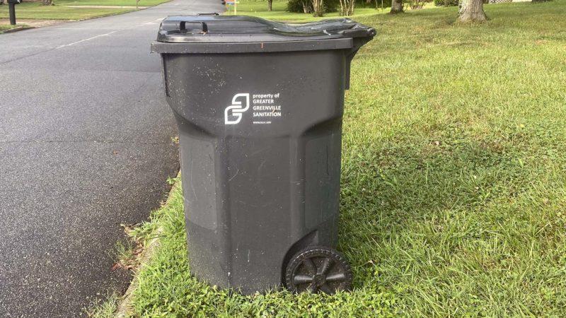 Greater Greenville Sanitation trash can - John Olson photo