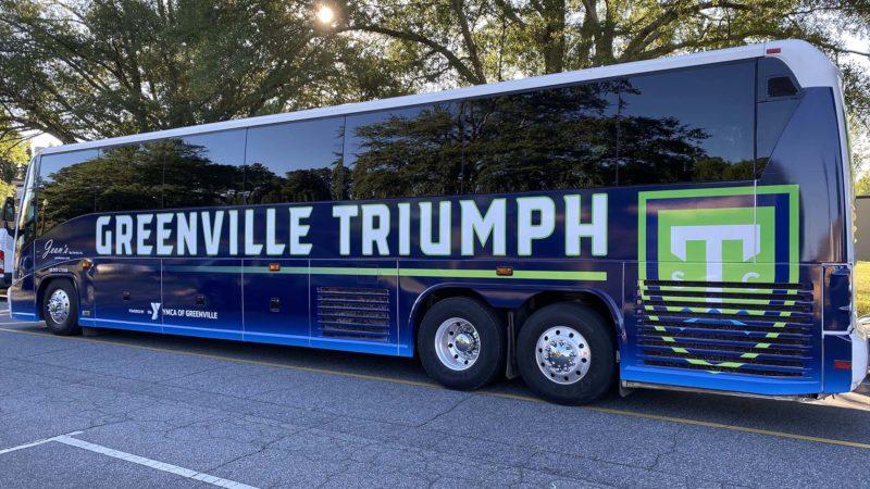 Greenville Triumph new bus