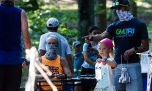 Photos: Paris Mountain Trail Run 7K