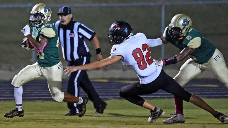 High school football: Blue Ridge 16, Berea 14