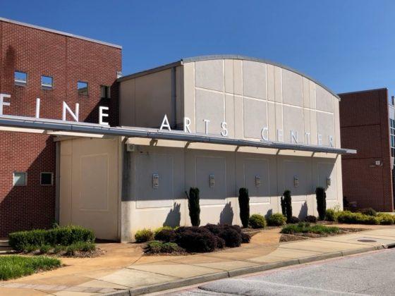 Fine Arts Center in Greenville, SC.