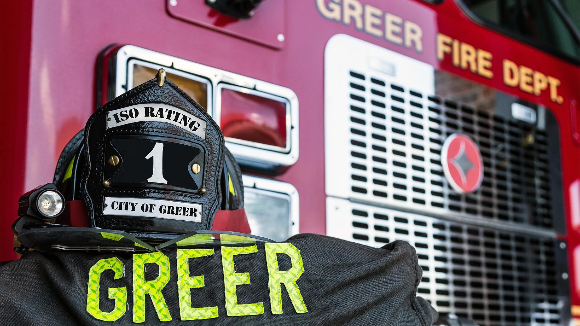 greer fire truck