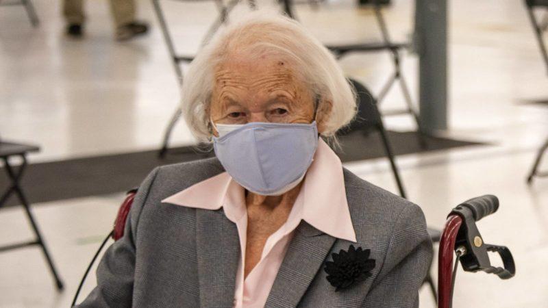 South Carolina's oldest resident Maria Aulenbacher