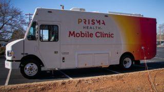 Photo of Prisma mobile vaccine unit