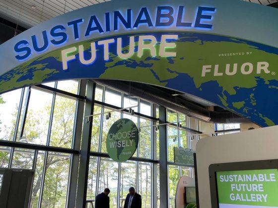 Roper Mountain's Sustainable Future exhibit