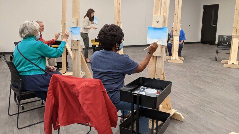 senior action art class