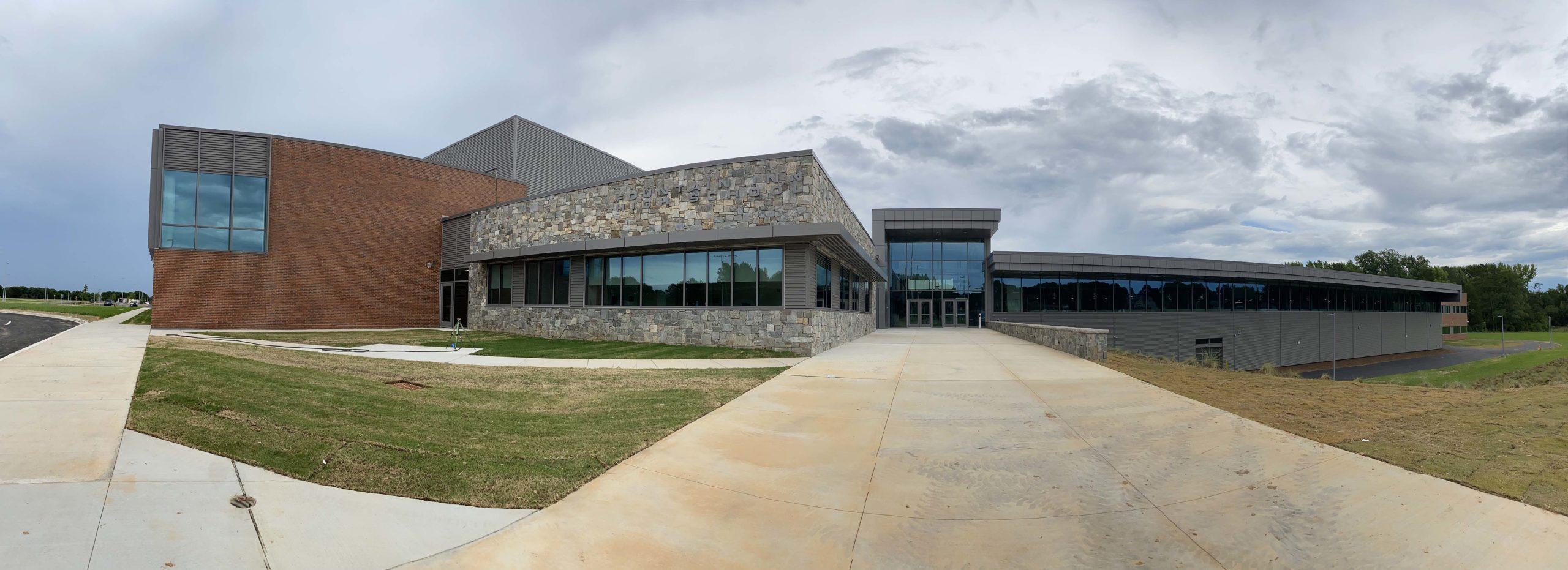 Fountain Inn High School panorama