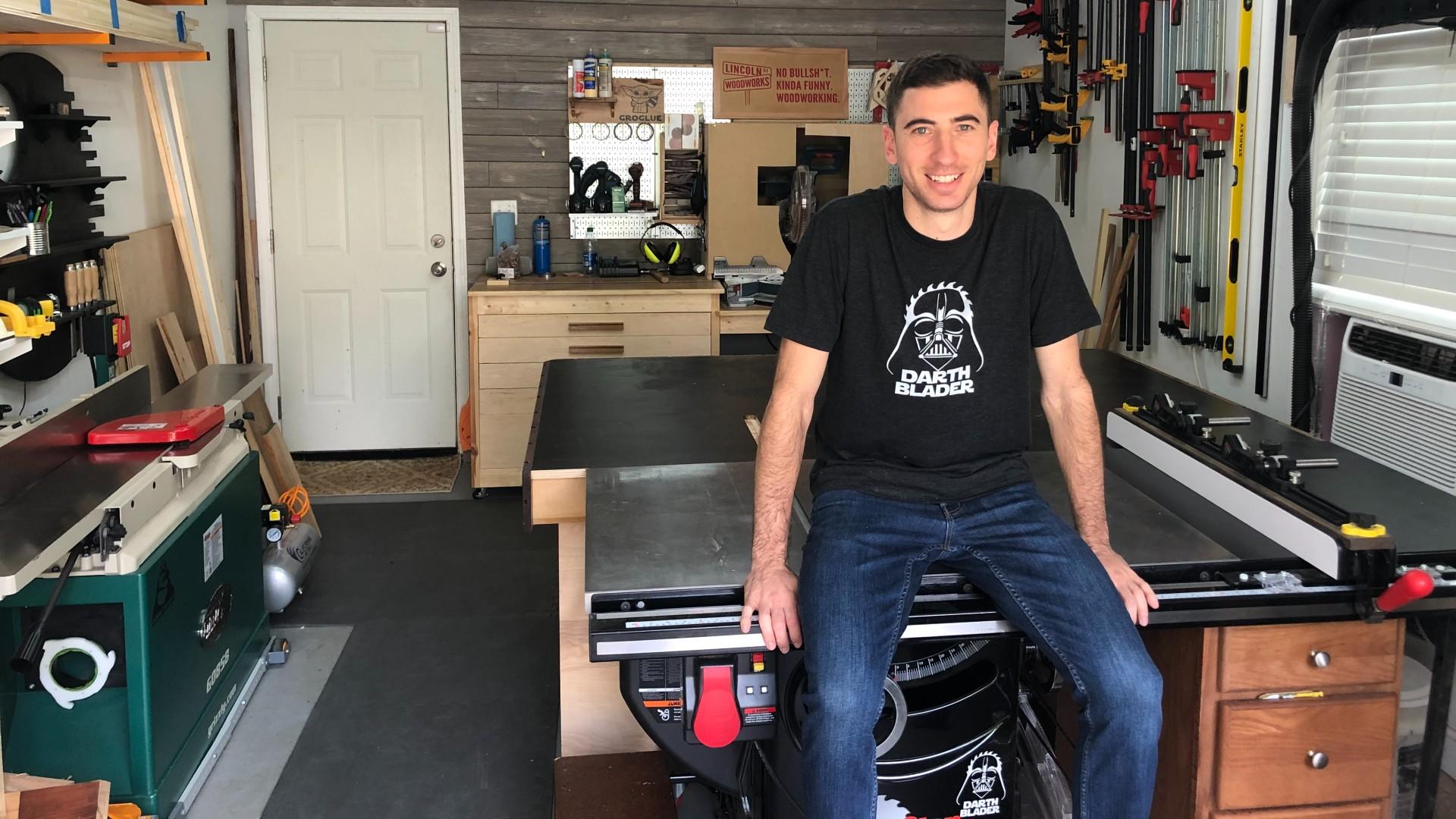 Woodworker Jon Cesaro