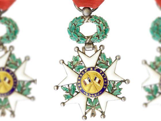 National Order of the Legion of Honour. France. Reverse