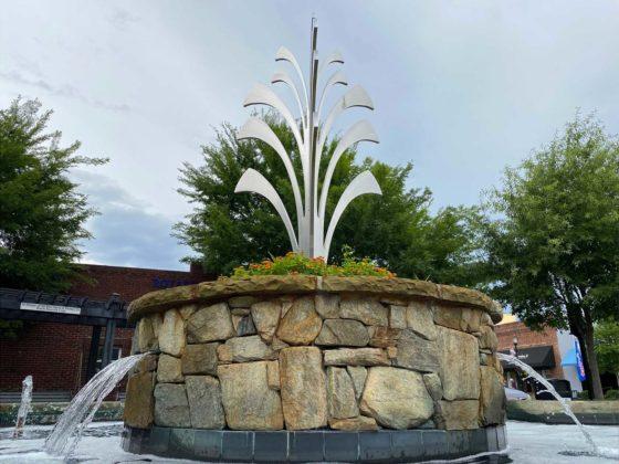 Fountain Inn fountain