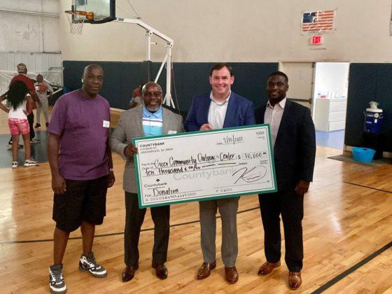 Greer Community Outreach Center Donation