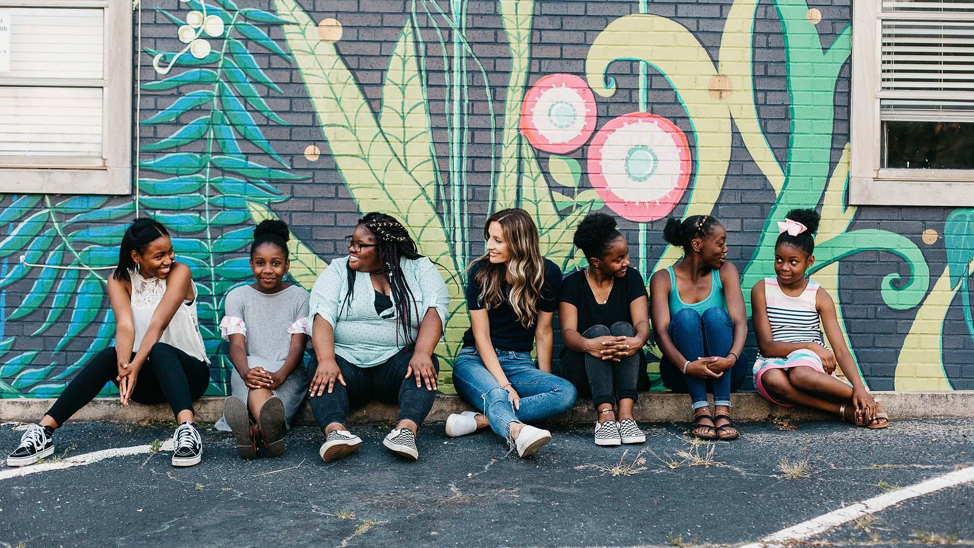 Girl Up Greenville group