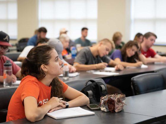 Clemson classroom