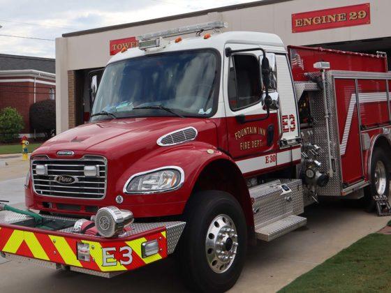 Fountain Inn Fire Truck